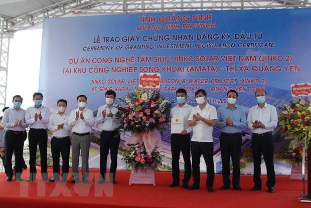 Quang Ninh trao quyet dinh dang ky dau tu cho du an hon 365 trieu USD hinh anh 1