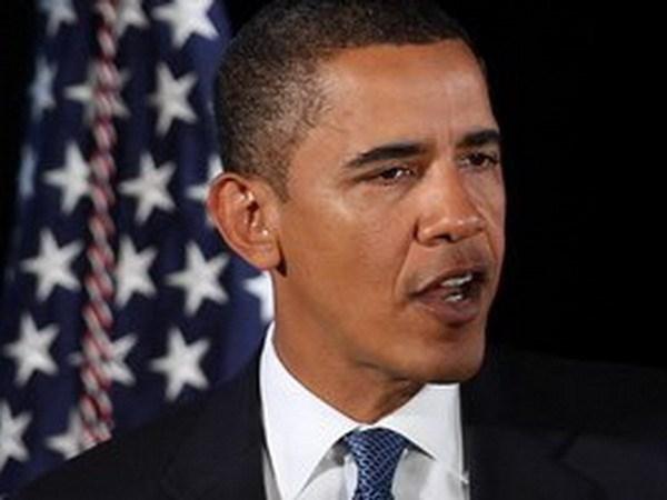 Ty le ung ho Tong thong Obama phan anh su chia re hinh anh 1