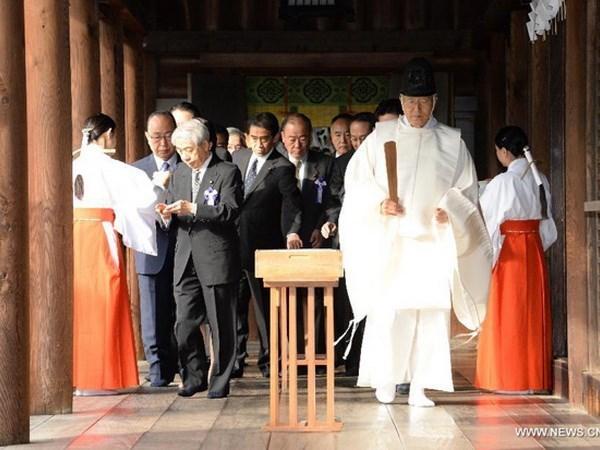 Han chi trich chuyen tham den Yasukuni cua bo truong Nhat hinh anh 1