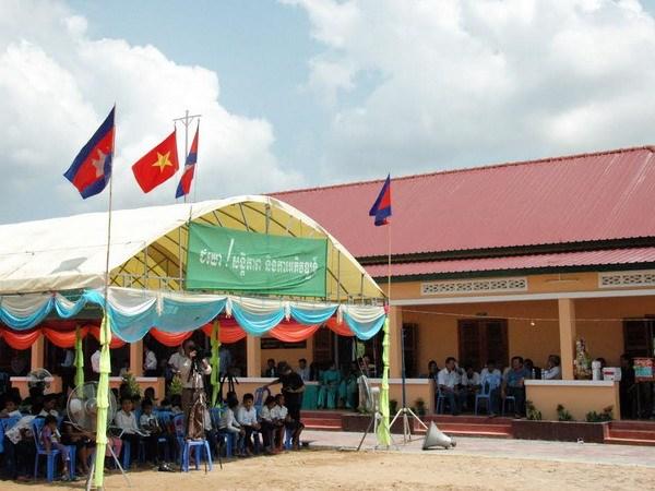 Khanh thanh truong tieu hoc Huu nghi Khmer-Viet Nam hinh anh 1