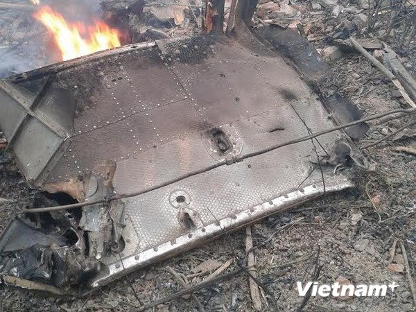 Thu tuong Lao gui dien tham hoi vu tai nan may bay MI-171 hinh anh 1