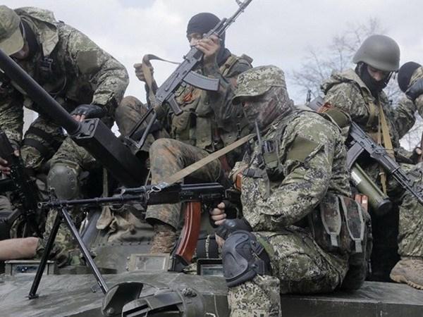 Ukraine: Luc luong ly khai rut khoi san bay thanh pho Donetsk hinh anh 1