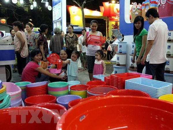 220 gian hang tham gia Hoi cho hang Viet Nam nam 2014 hinh anh 1