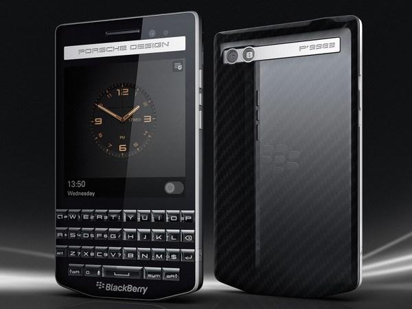 Mau P'9983 cua BlackBerry va Porsche: Su ket hop day phong cach hinh anh 1