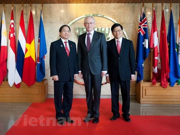 Viet Nam dong vai tro tich cuc trong thuc day quan he ASEAN-EU hinh anh 1