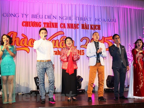 Chuong trinh nghe thuat Chao Xuan 2015 cho nguoi Viet tai Sec hinh anh 1