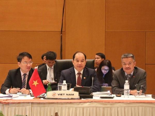 Viet Nam dung thu 2 ASEAN ve hoan thanh giai phap xay dung AEC hinh anh 1