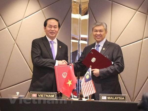 Viet Nam-Malaysia ky hiep dinh hop tac phong, chong toi pham hinh anh 1