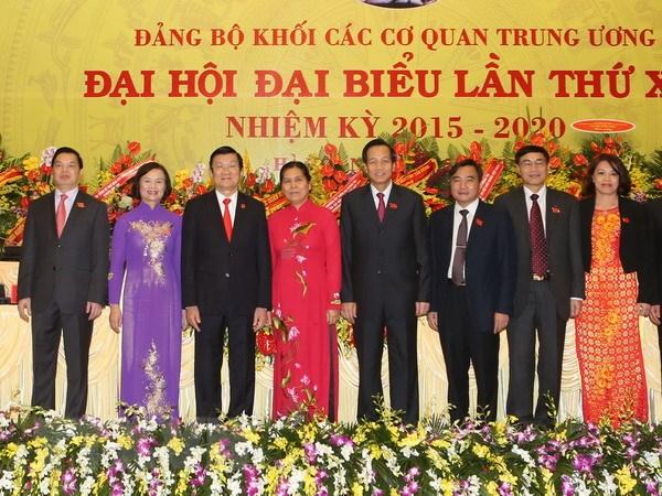 Ong Dao Ngoc Dung tai dac cu Bi thu Dang uy Khoi co quan Trung uong hinh anh 1