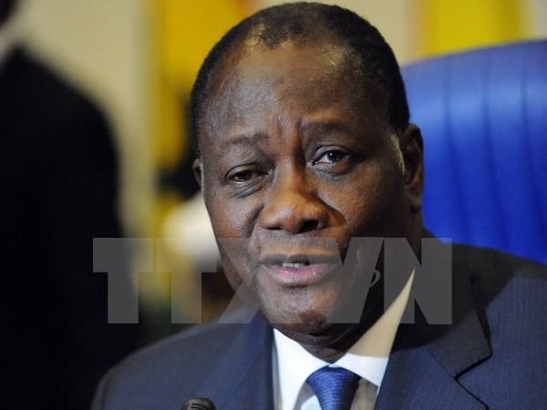 Tong thong Cote d'Ivoire Alassane Ouattara tai dac cu hinh anh 1