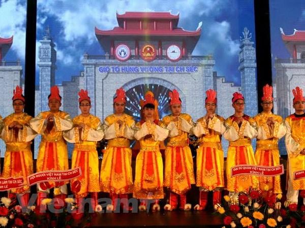 Cong dong nguoi Viet tai Sec to chuc le gio To Hung Vuong hinh anh 2