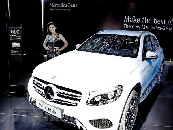 Mercedes-Benz gioi thieu dong SUV moi Mercedes GLC class 2016 hinh anh 1
