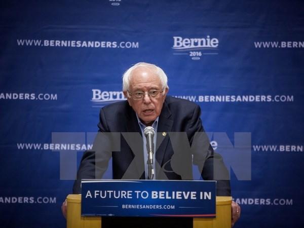 Ong Sanders bat ngo thang cuoc bau cu so bo o bang Indiana hinh anh 1