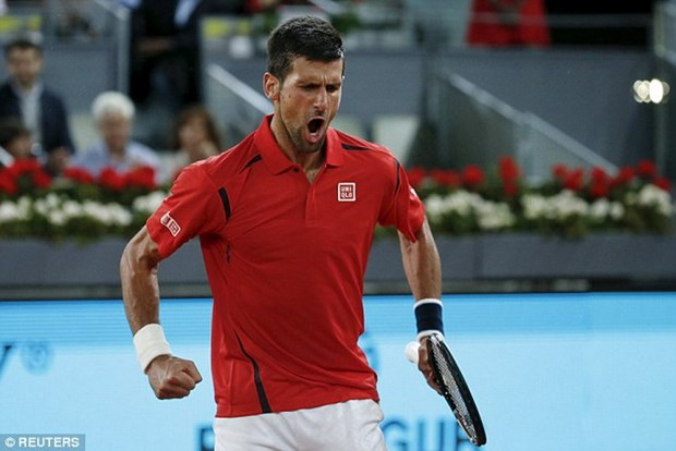 Novak Djokovic doi dau Andy Murray o chung ket Madrid Open hinh anh 1