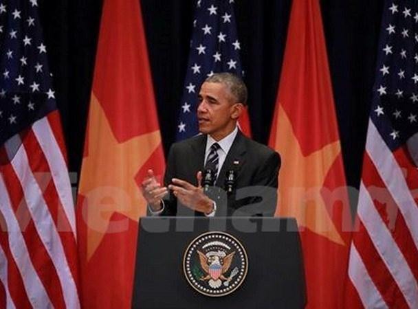 Tong thong Obama: Uu tien quan he doi tac toan dien voi Viet Nam hinh anh 1