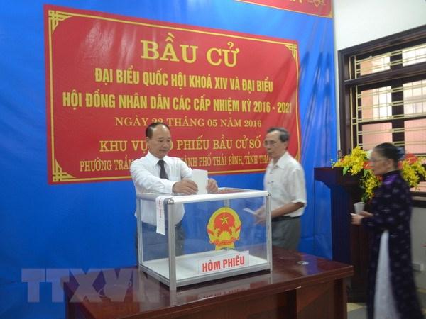 Danh sach trung cu dai bieu Quoc hoi va HDND tinh Thai Binh hinh anh 1