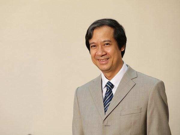 Bo nhiem ong Nguyen Kim Son lam Giam doc Dai hoc Quoc gia HN hinh anh 1