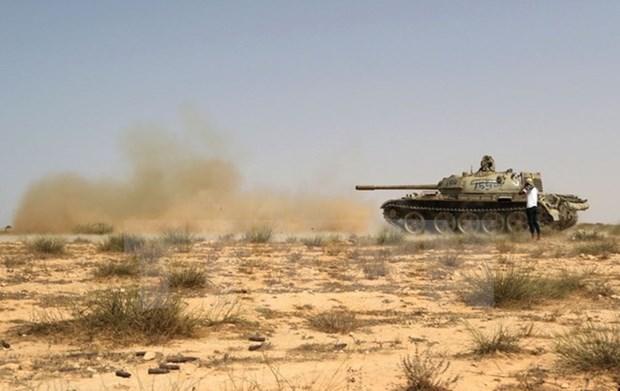 Libya: Luc luong ung ho chinh phu chuan bi giai phong Sirte khoi IS hinh anh 1