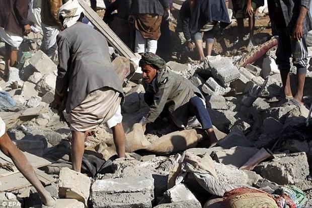 Yemen: Luc luong chinh phu mo chien dich tan cong o dong Sanaa hinh anh 1