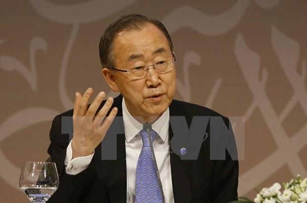 Tong thu ky Ban Ki-moon len an vu thu hat nhan cua Trieu Tien hinh anh 1