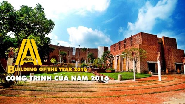 Nguyen Hoang Manh gianh danh hieu Kien truc su cua nam 2016 hinh anh 2