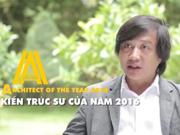 Nguyen Hoang Manh gianh danh hieu Kien truc su cua nam 2016 hinh anh 1