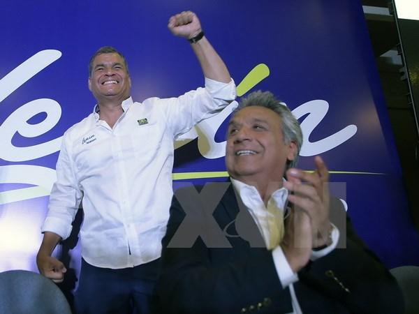 Tong thong Ecuador tin tuong vao nguoi ke nhiem Lenin Moreno hinh anh 1