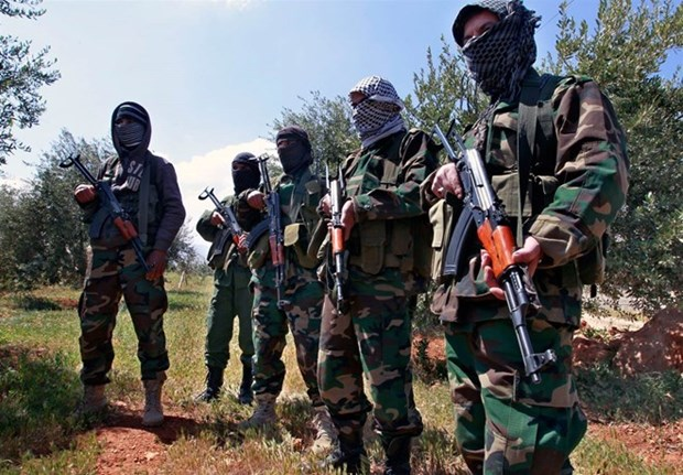 Nhom Hezbollah len an My khong kich Syria la
