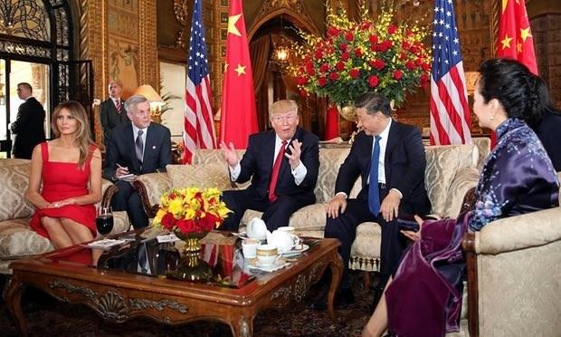 Tong thong Donald Trump: Quan he My-Trung co tien trien to lon hinh anh 1