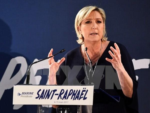 Ba Marine Le Pen tro thanh chinh khach duoc chu y nhat tai My hinh anh 1