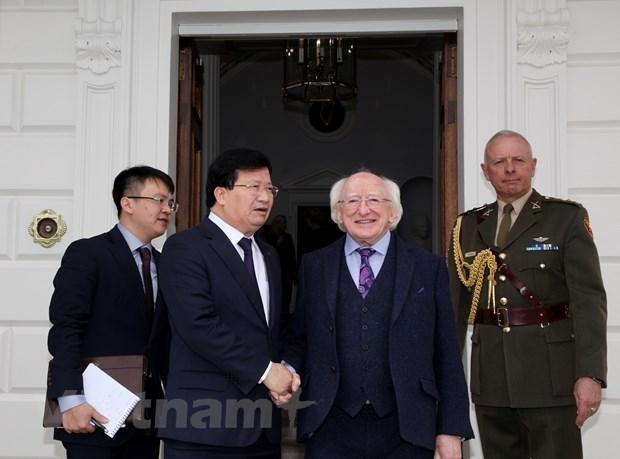 Ireland se ho tro Viet Nam phat trien kinh te-xa hoi, giam ngheo hinh anh 1