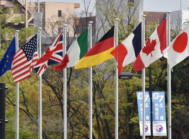 Italy: Hang tram nguoi da bieu tinh phan doi hoi nghi G-7 hinh anh 1