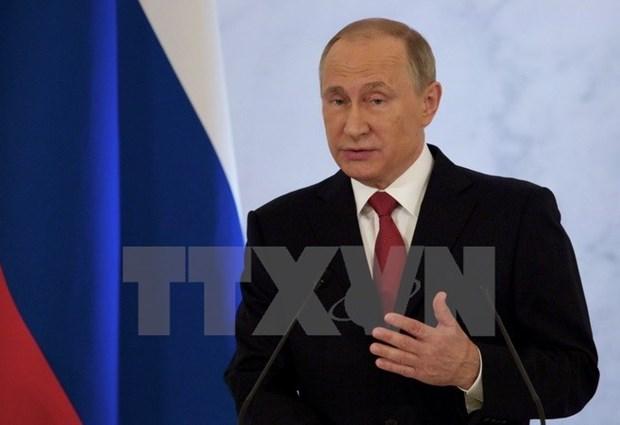 Tong thong Nga Putin tham chinh thuc Phap: Co hoi