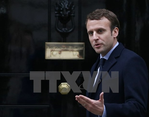 Bau cu Ha vien Phap: Dang cua ong Macron bo xa cac dang truyen thong hinh anh 1