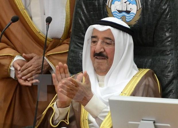 Quoc vuong Kuwait keu goi Qatar kiem che de xoa diu cang thang hinh anh 1