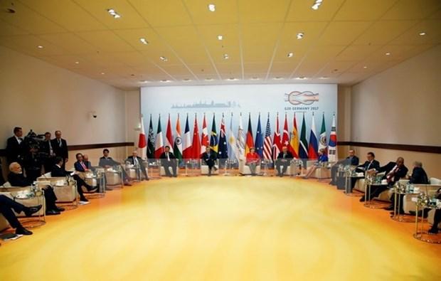 Hoi nghi G20: Tuyen bo chung dong thuan thuong mai, bien doi khi hau hinh anh 1