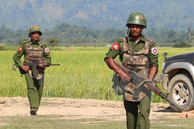 Myanmar: 71 nguoi thiet mang trong cuoc giao tranh o bang Rakhine hinh anh 1