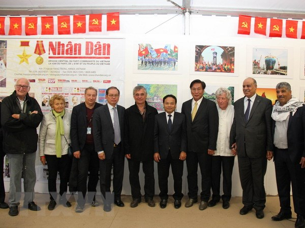 Viet Nam du Hoi bao Nhan dao lan thu 87 tai thu do Paris hinh anh 1