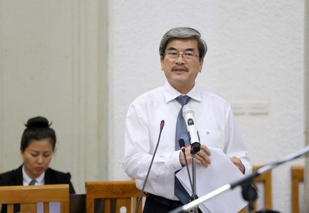 Phien toa xu Ha Van Tham: Co hay khong vai tro dong pham cap duoi? hinh anh 1