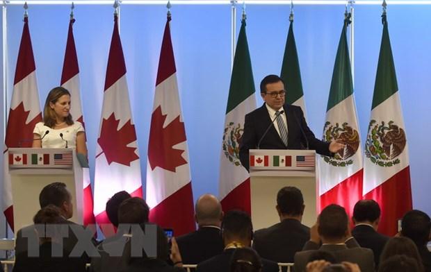 Canada: Dam phan Hiep dinh NAFTA dat nhieu tien bo vung chac hinh anh 1
