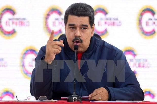 Tong thong Venezuela Nicolas Maduro chuan bi tham Nga hinh anh 1
