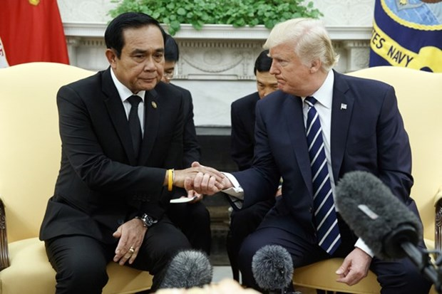 My, Thai Lan keu goi giai phap hoa binh cho tranh chap Bien Dong hinh anh 1