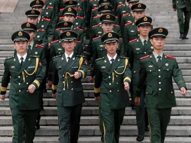 Trung Quoc tham vong dua quan doi thanh luc luong manh nhat the gioi hinh anh 1