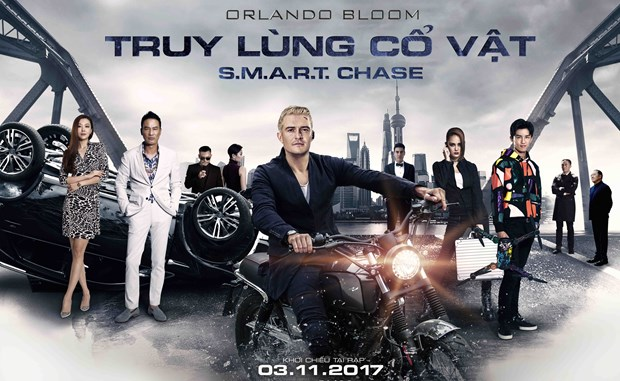 "Dien vien Orlando Bloom toa sang trong phim ""Truy lung co vat"" hinh anh 1"