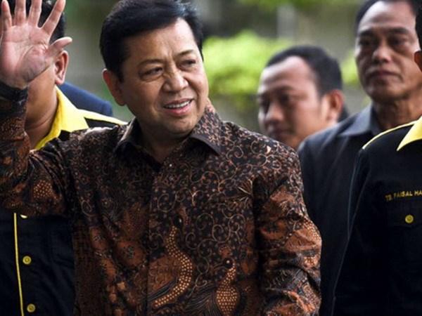Chu tich Quoc hoi Indonesia bi truy bat vi tinh nghi bien thu cong quy hinh anh 1