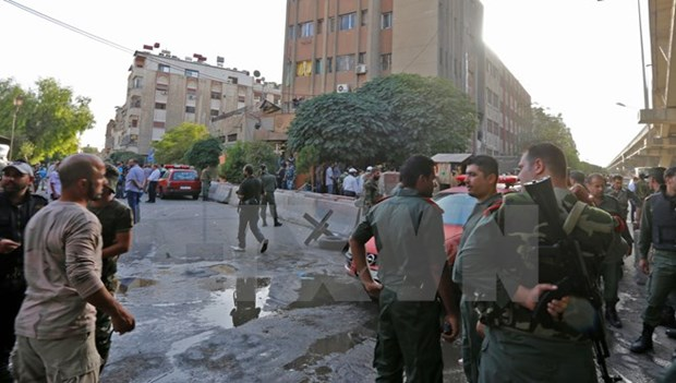 Syria: IS danh bom lieu chet, it nhat 35 dan thuong thiet mang hinh anh 1