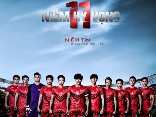 11 niem hy vong: Phim ve nhung cau thu het minh vi mau co To quoc hinh anh 1