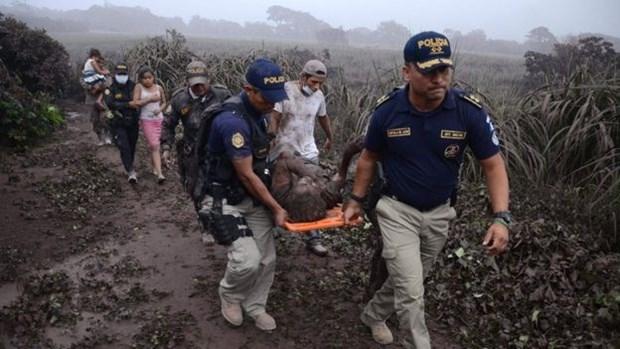 Vu nui lua phun trao o Guatemala: It nhat 99 nguoi thiet mang hinh anh 1