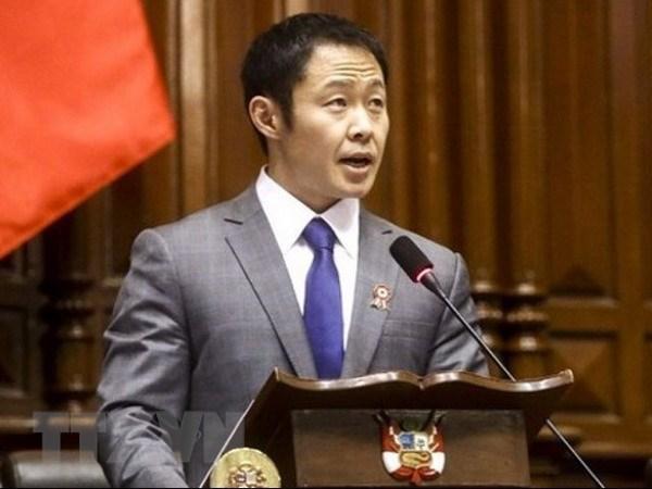 Peru: Nghi sy Kenji Fujimori vuot qua cuoc bo phieu bai nhiem hinh anh 1
