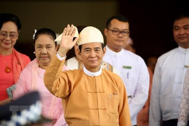 Tong thong Myanmar Win Myint sap tham chinh thuc Thai Lan hinh anh 1